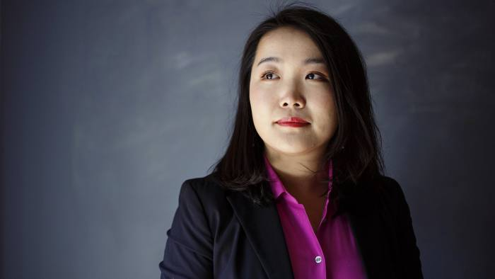 Laura Chen is photographed in Decatur, Ga. on Wednesday, March 7, 2018. Chen was recently accepted to the Kellogg School of Management at Northwestern University where she will pursue her MBA.