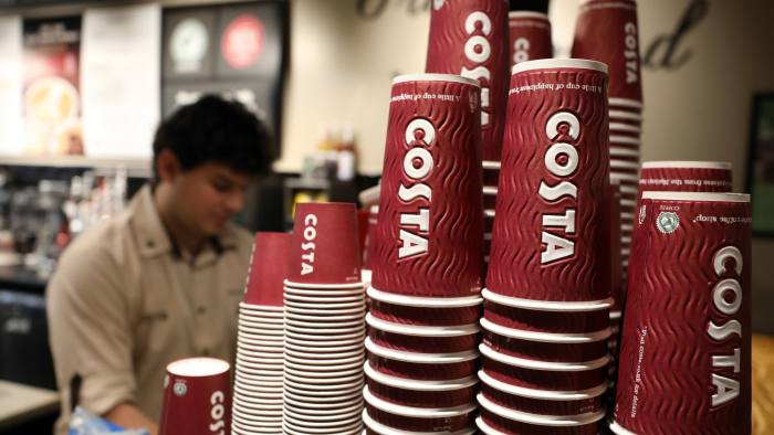 db91b6d56f Coca-Cola to buy Costa Coffee chain from Whitbread for £3.9bn ...