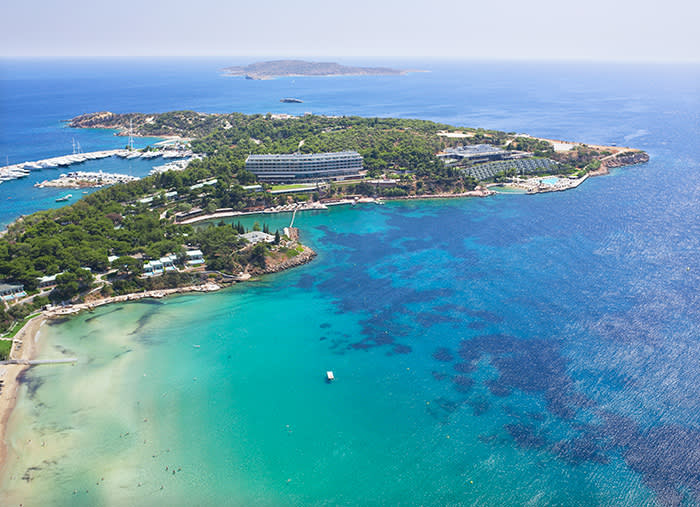 The Astir complex on the Vouliagmeni peninsula