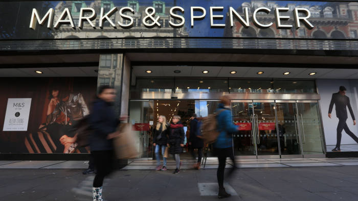 File photo dated 05/11/16 of Marks and Spencer on Oxford Street, London. Marks & Spencer has reported a 63.5% plunge in annual pre-tax profits to £176.4 million, with underlying earnings down 10.3% to £613.8 million after sales in its clothing arm tumbled 5.9% in its final quarter. PRESS ASSOCIATION Photo. Issue date: Wednesday May 24, 2017. See PA story CITY Marks. Photo credit should read: Jonathan Brady/PA Wire