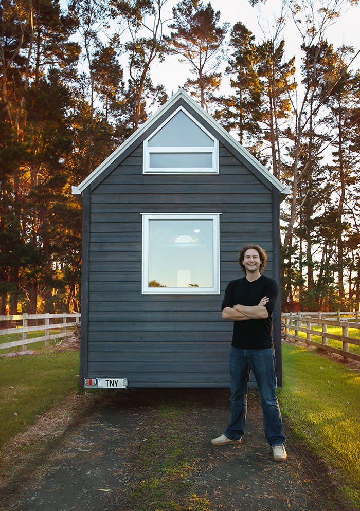 Bryce Langston: living big in a tiny home