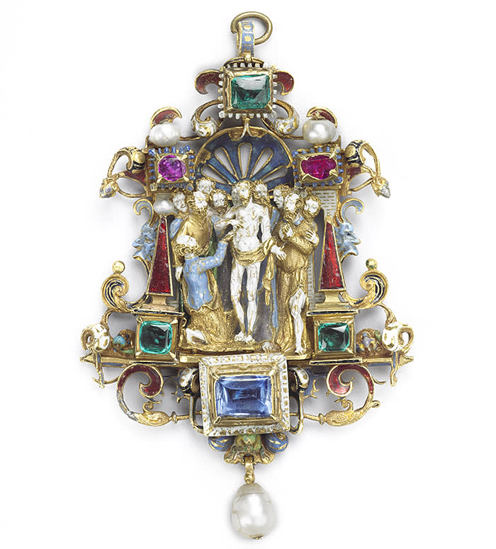 The Incredulity of St Thomas pendant, early 19th century The Wallace Collection