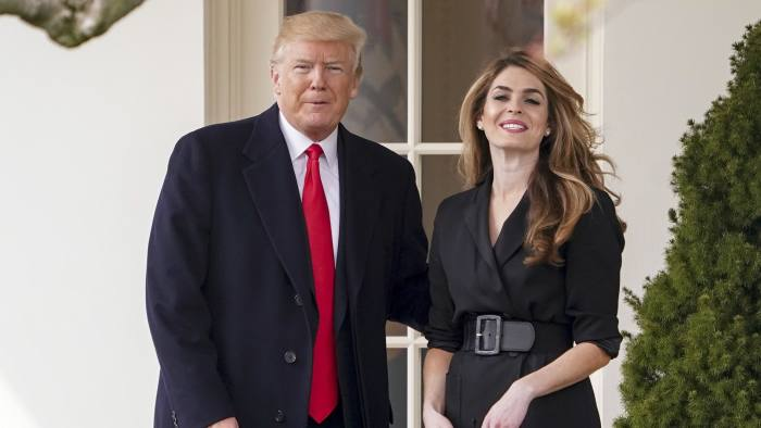 Hope Hicks to return to the Trump White House | Financial Times