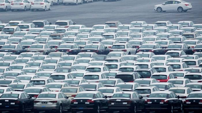 Public Auto Sales >> China Car Sales Drop For First Time Since 1990 Financial Times