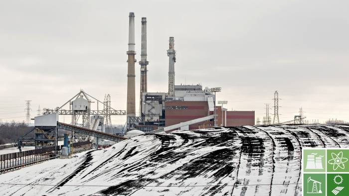A pile of coal sits outside the NRG Energy Inc. Will County Generating Station, a coal-fired power plant, in Romeoville, Illinois, U.S., on Monday, Jan. 8, 2018. The White House's plan to bail out America's coal country has been shot down -- by the very energy regulators that President Donald Trump appointed last year. Photographer: Daniel Acker/Bloomberg