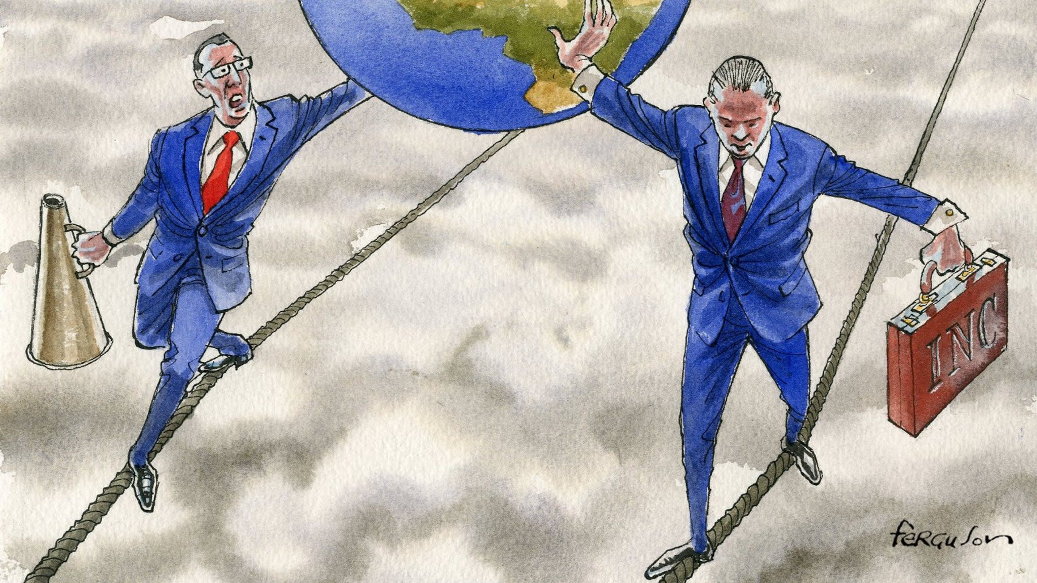 We are living in an age of unprecedented risks | Financial Times