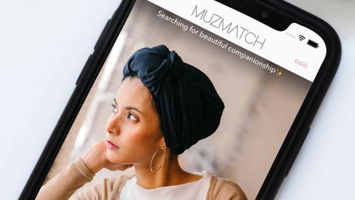 Muzmatch - an app designed for single Muslim people to meet. Handout.