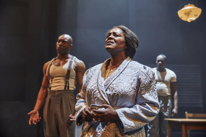 From left, Arinzé Kene, Sharon D. Clarke and Martins Imhangbe