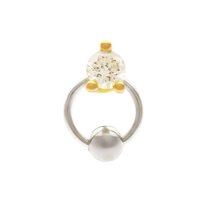 Two-in-One earring, £500, del€finadelettrez.com