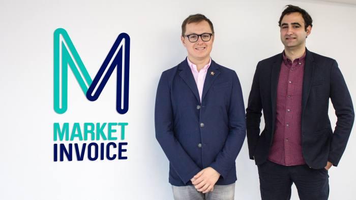 Anil and Ilya MarketInvoice press shot