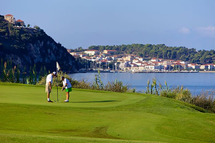 Golfing in Costa Navarino