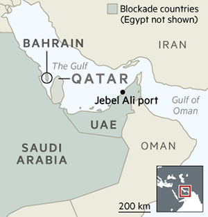 Qatar attempts to build its way out of a blockade