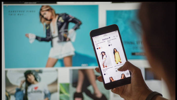 a5a4e965ab6 Boohoo says sales in the four months to December 31 rose 44% compared with  a year earlier © Charlie Bibby