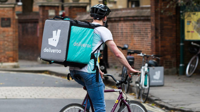 Deliveroo Cyclist EDITORIAL STOCK PHOTO Download Deliveroo Cyclist editorial stock photo. Image of delivery - 78081818 DOWNLOAD COMP  YORK, UK - SEPTEMBER 28, 2016. A cyclist from the increasingly popular take away food delivery company Deliveroo cycling through city streets with a hot food delivery for people's homes. Photo Taken On: September 28th, 2016  2016,away,city,company,cycling,cyclist,deliveroo,delivery,food,from,homes,hot,increasingly,popular,september,streets,take,through,with,york More ID 78081818 © Clare Jackson | Dreamstime.com
