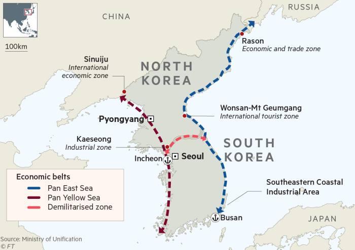 South Korea's economic integration plan with North risks US ire
