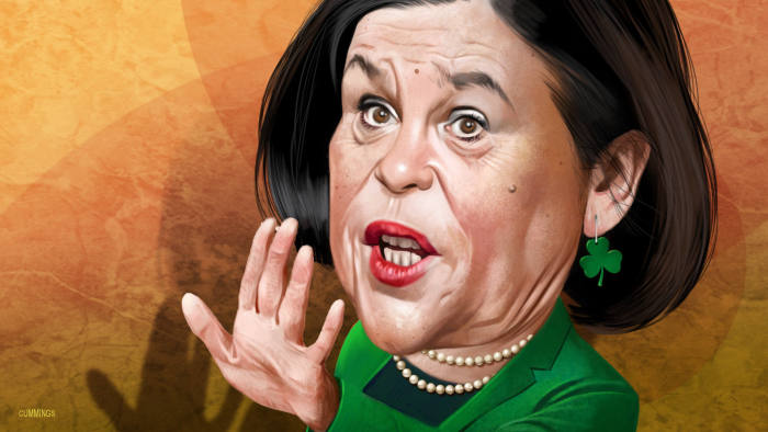 Mary Lou McDonald, a formidable force rises in Irish politics | Financial  Times