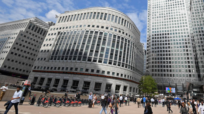 Thomson Reuters brushes off news wire suitors | Financial Times