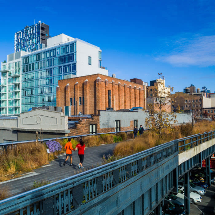 High Line opens at 7am in the summer