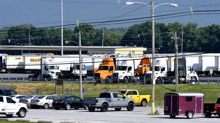 A good living but a rough life': trucker shortage holds US economy