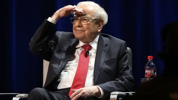 3f82cde0b2 Buffett reaps $4.2bn in paper profit after Berkshire amends buyback policy