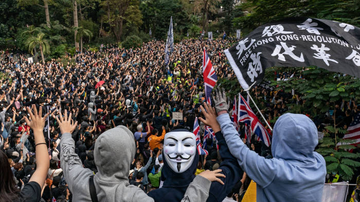 Top Hong Kong official backs call for controversial security law ...