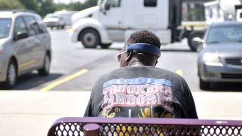 A good living but a rough life': trucker shortage holds US