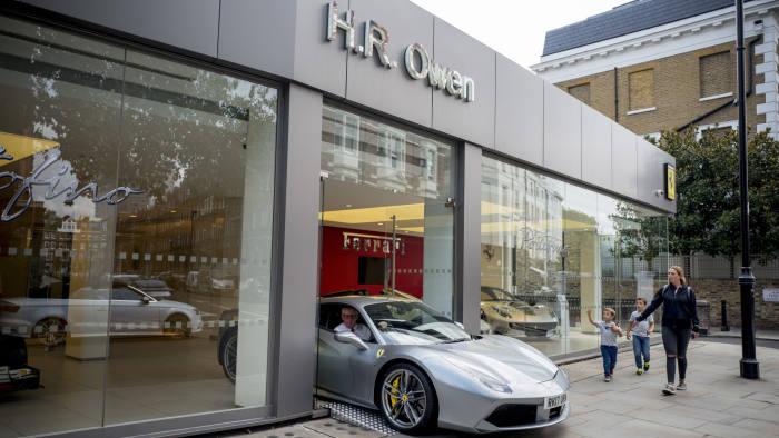 Luxury Car Dealer Hr Owen S Profits Double Financial Times