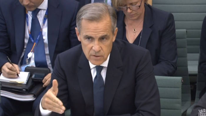 Mark Carney at the Treasury Committee Wednesday 4 September 2019