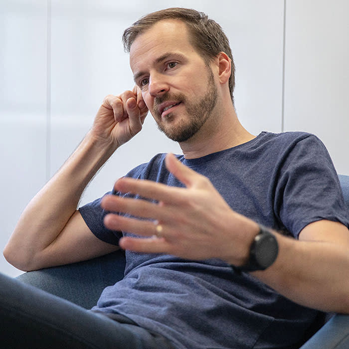 Taavet Hinrikus, co-founder of Transferwise. For MBS Biz ed mag. 21/11/18