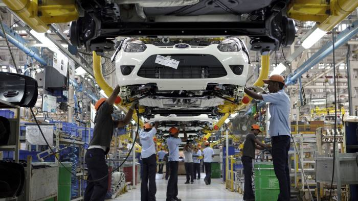 Indian manufacturing sector growth hits eight-month low | Financial Times