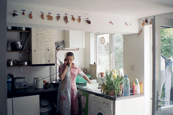 Nigel Shafran's 'Ruth on the Phone' (2001-02) is part of an ongoing series the artist began in the early 1990s in which he photographs his partner in various domestic situations. His latest book is 'Dark Rooms', mackbooks.co.uk