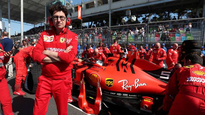 Ferrari S New F1 Team Principal Aims To Restore Winning Ways Financial Times