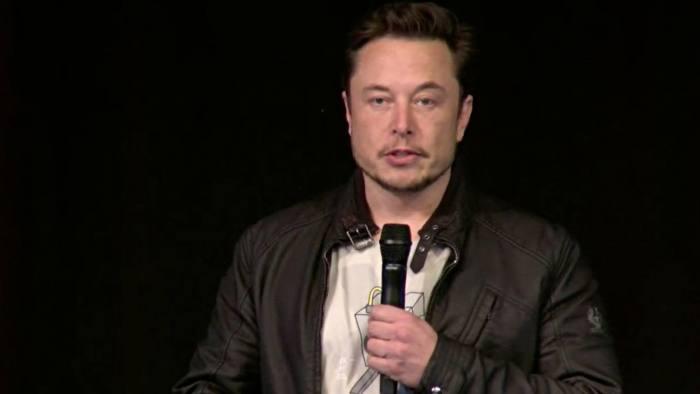 Video grab of Elon Musk at Tesla 2018 Annual Shareholder Meeting, California Tuesday, June 5, 2018 at 2:30 pm PT