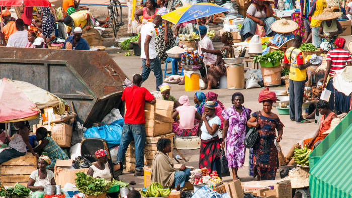 Africa poised 'to play a major role in the world' | Financial Times
