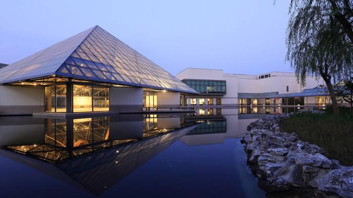 China Europe International Business School in Shanghai . Press image