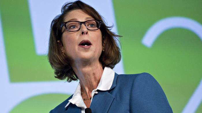 Abigail Johnson, chairman and chief executive officer of Fidelity Investments