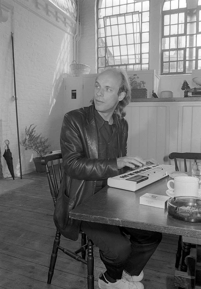 Mandatory Credit: Photo by Ray Stevenson/REX/Shutterstock (671706b) Brian Eno Brian Eno - Aug 1984
