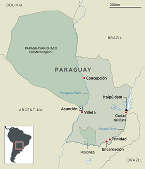Paraguay\'s big rivers shape its progress as a shipping dynamo ...