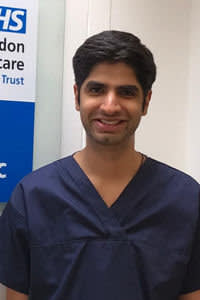 Husain Khaki is a senior executive at a medical tech start-up, KroniKare, but is also a trained doctor for the NHS.