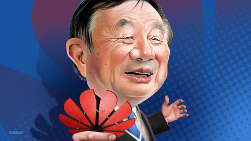 Opinion today: Huawei's tough founder is ready to battle