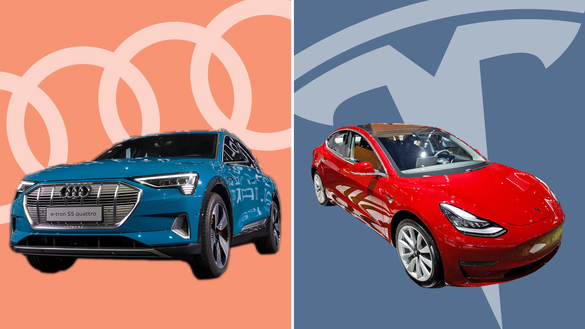 Electric Car Rivals Revved Up To Chal Ge Tesla
