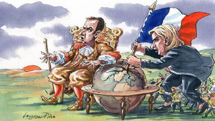 web_Macron and Le Pen