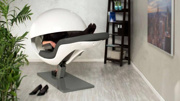 Metro Naps - photos of sleeping pods