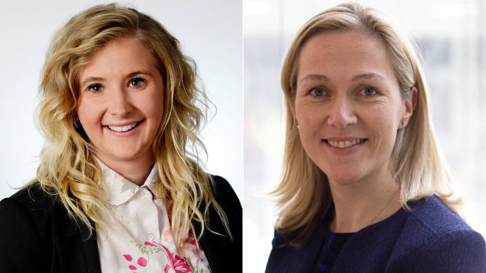 Faces of cyber security: Holly Rostill, left, and Claire Reid
