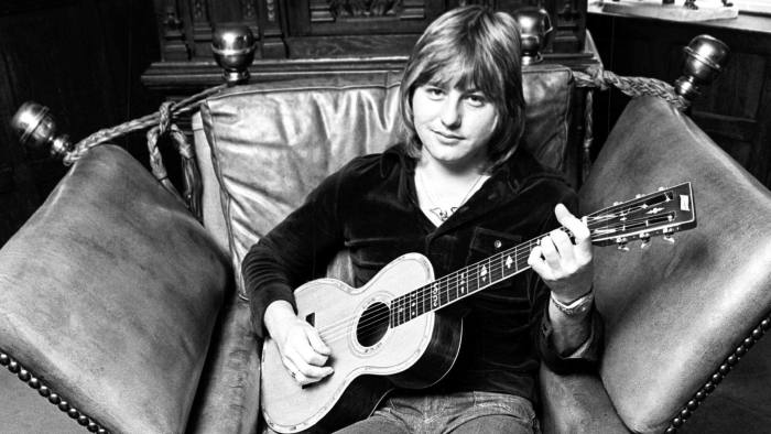 Greg Lake photographed in 1974