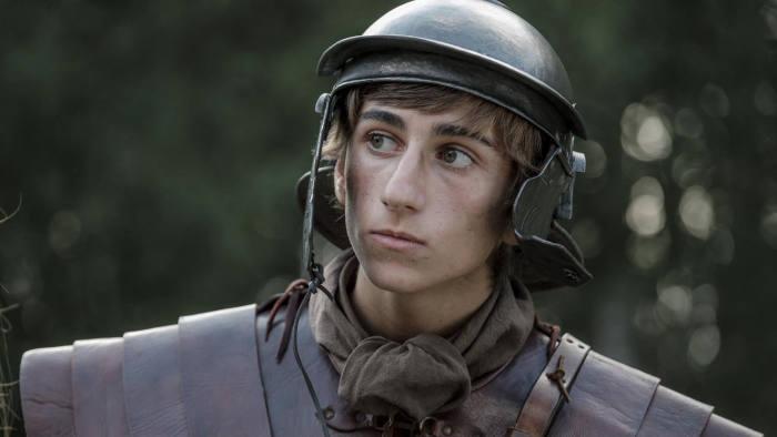 Sebastian Croft in 'Horrible Histories: The Movie — Rotten Romans'