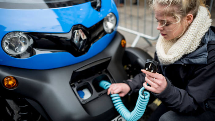 Uk To Miss Electric Car Sales Target Auto Trader Warns Financial
