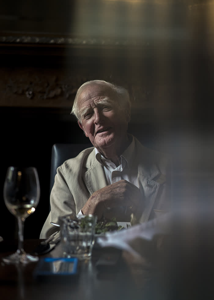 David Cornwell, better known as John le Carré