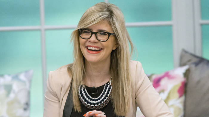 Editorial use only Mandatory Credit: Photo by S Meddle/ITV/Shutterstock (4607353d) Emma Barnett 'Lorraine' ITV TV Programme, London, Britain. - 02 Apr 2015 NEWS REVIEW Kevin Maguire and Emma Barnett look ahead to the ITV leaders' debate