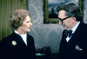 Margaret Thatcher in an interview with Robin Day in 1980
